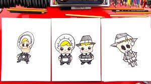 how to draw cartoon pilgrims boy u0026 art for kids hub