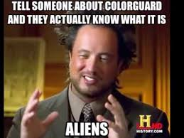 Color Guard Memes - winter colorguard memes youtube