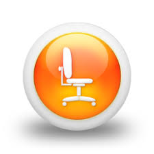 Orb Chair Office Chair Icon 105235 Icons Etc