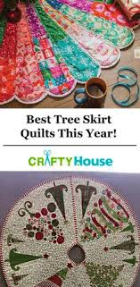 make own tree skirt pattern and easy to make