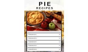 recipe apk free pie recipe apk for android getjar