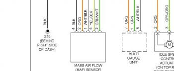 subaru maf wiring diagram subaru wiring diagrams instruction