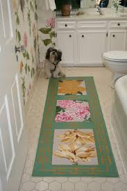 100 best makeover painted floor cloths images on pinterest