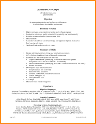 9 sample resume for technical support azzurra castle grenada