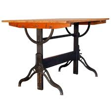 Drafting Table Height by Vintage Drafting Table By Hamilton At 1stdibs