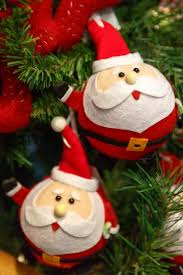 santa claus ornaments free stock photo domain pictures