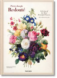 redouté selection of the most beautiful flowers taschen books