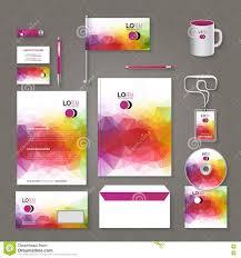 Business Letterhead Design Vector Corporate Brand Business Identity Design Template Layout Letter