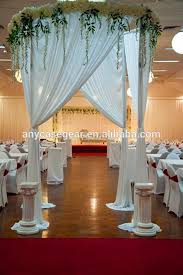 Pipe Drape Wholesale Event Wedding Aluminum Backdrop Stand Pipe Drape Wholesale
