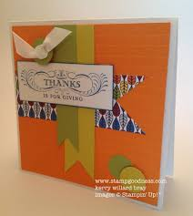 stampin up thanksgiving cards ideas peonies and paper chains mojo monday 256 a thanksgiving card