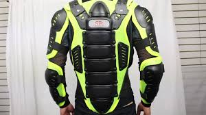 motorcycle protective jackets perrini green ce approved full body armor motorcycle jacket night