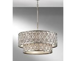 Drum Shade Ceiling Light Fixtures Chandelier Modern Drop Lighting Fixture