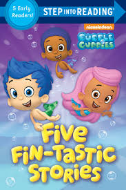 step reading fin tastic stories bubble guppies