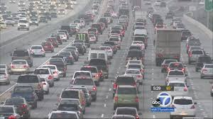 Traffic Map Los Angeles by Waze Study Thursdays Are Worst For Los Angeles Traffic Abc7 Com