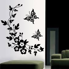 stickers pour chambre d enfant 3d papillon fleurs wall sticker pour chambre d enfants chambre salon