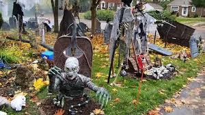 halloween graveyard 2012 youtube