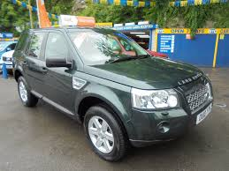 light blue land rover used land rover freelander td4 e gs green 2 2 estate bridgend