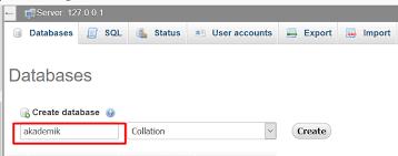 membuat database akademik dengan mysql membuat crud dengan php dan mysqli menilkan data malas ngoding