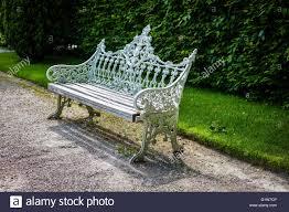 Vintage Cast Iron Patio Furniture - cast iron garden bench stock photos u0026 cast iron garden bench stock