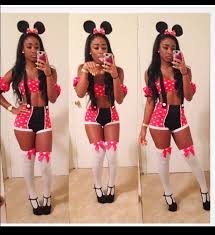 Minnie Mouse Costume Shorts Minnie Mouse Halloween Halloween Costume Pink Dress