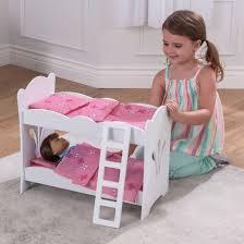 kidkraft lil u0027 doll bunk bed target