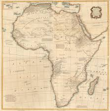Africa On The Map by Atlas Ancient Africa Map