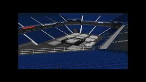 allstate arena wwe setup complete with link youtube