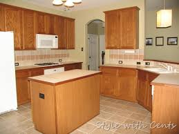 what are builder grade cabinets made of style with cents the 750 complete kitchen remodel