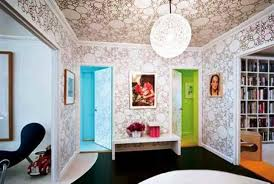 interior home wallpaper 22 ideas to update ceiling designs with modern wallpaper patterns