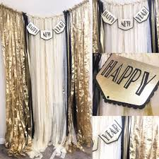 new years back drop black gold and white backdrop nye gatsby deco speakeasy