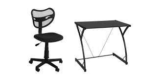 petit bureau noir vente privée numéro 35 l ensemble bureau et chaise félix