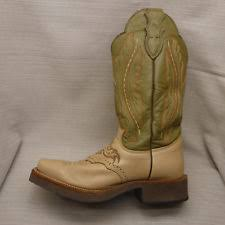 womens justin boots size 9 womens justin boots heel square toe 7 5 b coffee