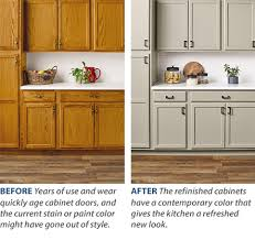 paint vs stain kitchen cabinets cabinet refinishing guide