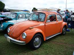 orange volkswagen beetle the great pumpkin 0502 texas vw classic