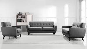 canapé 3 2 tissu salon avec 2 canapes maison design wiblia com