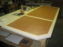 fabriquer un bureau en bois fabriquer le plateau de bois d un bureau bois com