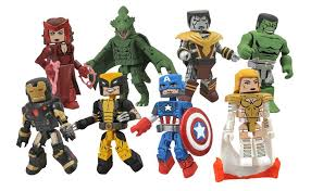 Diamond Hoggers Part 175 - diamond select toys show off series 52 marvel minimates