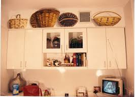 decorating on top of kitchen cabinets appliance baskets on top of kitchen cabinets kitchen kitchen