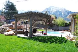 Aluminum Pergola Kit by Technical Western Timber Frame