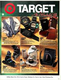 target black friday christmas commercial vintage ads from target u0027s holiday history
