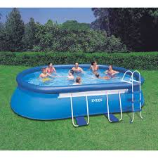 Outdoor Pool Furniture by Furniture Inflatable Swimming Pools Walmart In Blue For Outdoor
