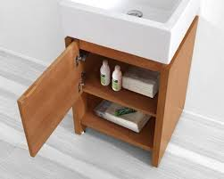 abodo 20 inch small contemporary bathroom vanity
