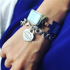 heart tag bracelet images Authentic tiffany co heart tag bracelet gelang watches jpg