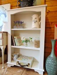 Shabby Chic Painting Techniques by Shabby Chic Painted Solid Pine Bookcase Annie Sloan Pine