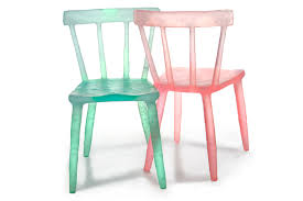 Recycled Plastic Furniture Kim Markel U0027s Candy Colored Recycled Chairs Inject A Juicy Burst Of
