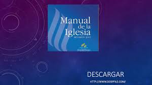 manual de la iglesia pdf 2015 youtube
