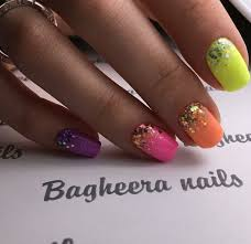 best 25 bright nails ideas on pinterest bright acrylic nails