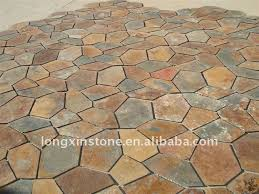 sgs meshed slate floor paving tiles buy floor tile designs