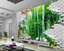 top classic 3d creative fashion bamboo forest hd mural mural 3d see larger image