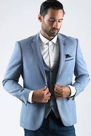 light blue jacket mens mens marc darcy designer light blue blazer formal jacket size 34 52
